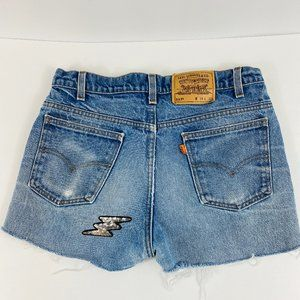 Levi's Cut Off Shorts Frayed Distressed Vintage